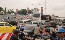 Sửa đường, kẹt xe khủng hoảng tại ngã tư Bình Triệu