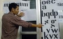 Typeace: triển lãm và trò chuyện về chữ