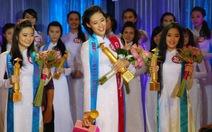 """Khánh Vân đăng quang """"Miss Áo dài nữ sinh Việt Nam 2013"""""""