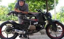 Chiếc xe máy táo bạo của Khánh