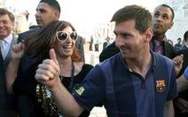Cơn sốt Barca và Messi ở Israel và Palestine