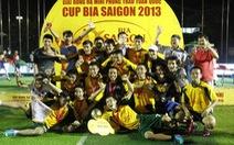 Hà Thăng FC đoạt chức vô địch tại Hà Nội