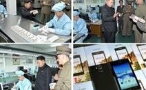 Triều Tiên chế tạo điện thoại thông minh đầu tiên