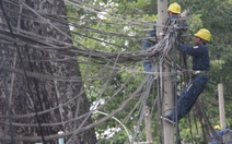 Ngầm hóa lưới điện, cáp viễn thông: khó vì thiếu đơn giá