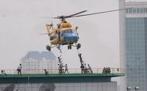 Cận cảnh tổng diễn tập chữa cháy tại trung tâm TP.HCM