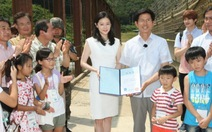 Diễn viên Lee Young Ae làm đại sứ hòa bình khu vực phi quân sự
