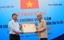Đề nghị công nhận liệt sỹ đối với anh Trần Hữu Hiệp