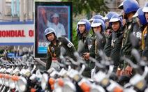 Campuchia dựng tường rào quanh trụ sở quốc hội