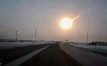 Thiên thạch Nga để lại hàng trăm tấn bụi trong bầu khí quyển
