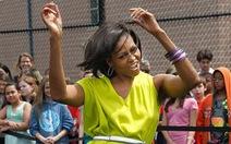 Bà Michelle Obama hát nhạc rap?
