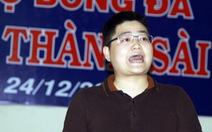 Ông Nguyễn Xuân Thủy bị cấm hoạt động bóng đá 5 năm