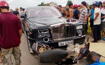 Xe Rolls-Royce tông chết 2 người: lỗi do người chạy xe máy