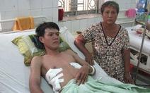 Tràn khí màng phổi trái, bác sĩ mổ bên phải