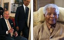 Lộ thư chia buồn... Mandela qua đời của cựu tổng thống Bush