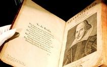 Học giả Anh phản đối đấu giá tác phẩm Shakespeare