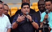 """Maradona: """"Tôi hi vọng Barca không biến Neymar thành lực sĩ"""""""