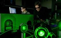 Tia laser phát hiện chất nổ ở sân bay
