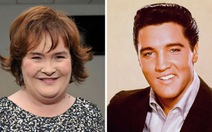 """Susan Boyle """"song ca"""" cùng vua rock quá cố Elvis Presley"""