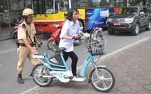 CSGT sẽ hóa trang ghi hình xe đạp điện phạm luật