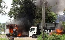 Biểu tình thành bạo động, 70 cảnh sát bị thương