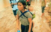 Ba ngày nhịn đói giữa rốn lũ tìm người mất tích