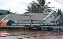 Sau bão, nhiều nơi lại chìm trong lũ