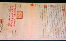 Triển lãm bút phê của các vua triều Nguyễn