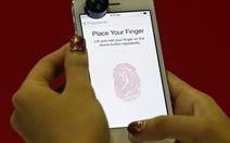 Nghị sĩ Mỹ lo ngại tính năng bảo mật vân tay trên iPhone 5S