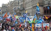Dân Scotland biểu tình đòi độc lập