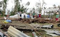 Dông, lốc làm hàng trăm căn nhà ở ĐBSCL hư hại