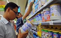 Thủ tướng yêu cầu ban hành danh mục sữa