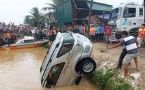 Chia sẻ kinh nghiệm lái xe hơi qua vùng ngập lụt