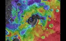 Phát hiện dấu tích núi lửa siêu khổng lồ trên sao Hỏa