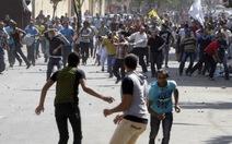 Bạo động bùng phát ở Ai Cập