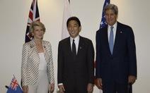Nhật, Mỹ, Úc lo ngại hoạt động của hải quân Trung Quốc
