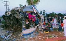 Thái Lan: lái xe ngủ gật làm 16 người chết