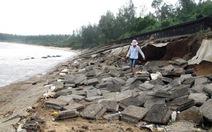 Sóng biển đe dọa địa đạo Vịnh Mốc