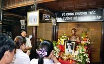 Gia đình đại tướng về quê lo lễ tang Đại tướng