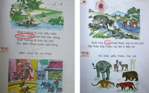 """""""Sạn"""" trong sách giáo khoa Tiếng Việt lớp 1"""