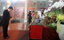 Lãnh đạo Đảng, Nhà nước viếng cố GS.TS Nguyễn Thiện Thành