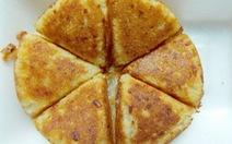 Nhớ bánh khoai mì đậu xanh vỉa hè Sài Gòn