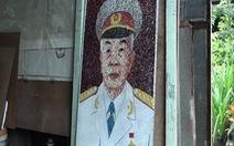 Xem clip vẽ chân dung Đại tướng Võ Nguyên Giáp bằng dây điện