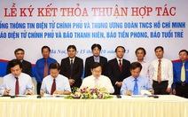 Trung ương Đoàn ký kết hợp tác với Cổng thông tin điện tử Chính phủ