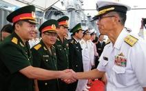 Ba tàu Lực lượng Tự vệ biển Nhật Bản thăm Đà Nẵng