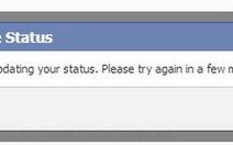 Facebook trục trặc, không đăng tải được nội dung