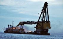 Tàu 5.000 tấn chở 80 bình gió đá, 9.000 lít dầu DO bốc cháy