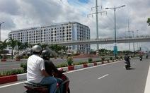 Bên lề con đường mới nhất thành phố