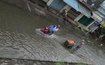 Nhiều đê bao tại ĐBSCL bị vỡ vì triều cường