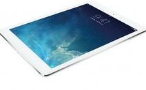 iPad Air so cấu hình tablet 10-inch cao cấp