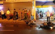 Hai xe máy tông nhau vỡ nát, một người chết, hai người nguy kịch